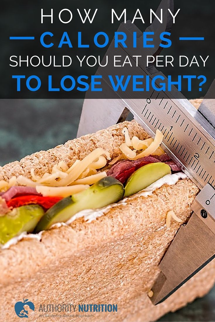 how many calories should you eat per day to lose weight? – schoen med